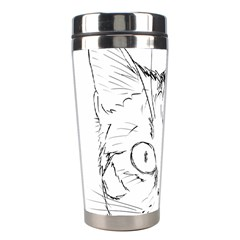 Cat Feline Animal Pet Stainless Steel Travel Tumblers by Sapixe