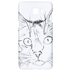 Cat Feline Animal Pet Samsung C9 Pro Hardshell Case