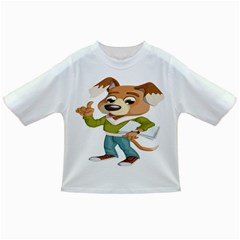 Dog Pet Dressed Point Papers Infant/toddler T Shirts