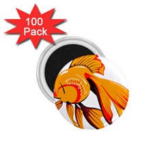 Goldfish Fish Tank Water Tropical 1 75  Magnets (100 Pack)