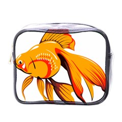 Goldfish Fish Tank Water Tropical Mini Toiletries Bags