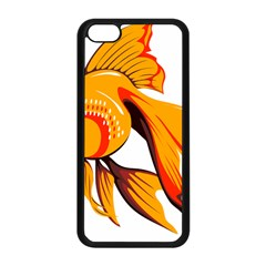 Goldfish Fish Tank Water Tropical Apple Iphone 5c Seamless Case (black) by Sapixe