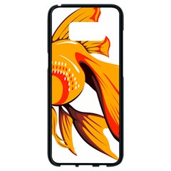 Goldfish Fish Tank Water Tropical Samsung Galaxy S8 Black Seamless Case