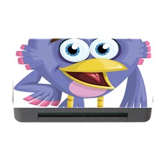 Bird Violet Beak Feather Fun Memory Card Reader With Cf by Sapixe