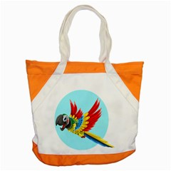 Parrot Animal Bird Wild Zoo Fauna Accent Tote Bag by Sapixe