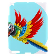 Parrot Animal Bird Wild Zoo Fauna Apple Ipad 3/4 Hardshell Case by Sapixe