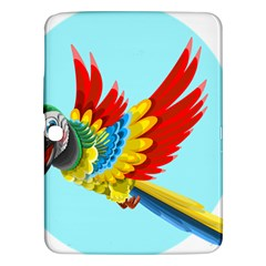 Parrot Animal Bird Wild Zoo Fauna Samsung Galaxy Tab 3 (10 1 ) P5200 Hardshell Case
