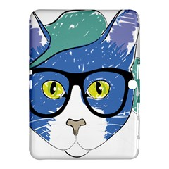 Drawing Cat Pet Feline Pencil Samsung Galaxy Tab 4 (10 1 ) Hardshell Case  by Sapixe