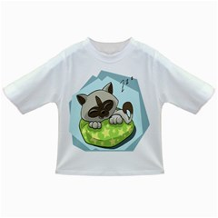 Kitten Kitty Cat Sleeping Sleep Infant/toddler T Shirts