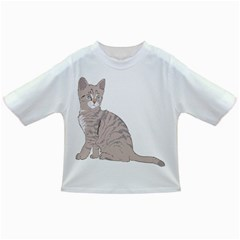 Kitten Cat Drawing Line Art Line Infant/toddler T Shirts