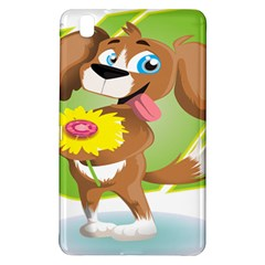 Dog Character Animal Flower Cute Samsung Galaxy Tab Pro 8 4 Hardshell Case by Sapixe