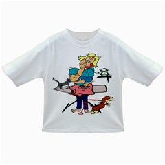 Housewife Multitasking Woman Infant/toddler T Shirts