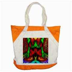 Faces Accent Tote Bag