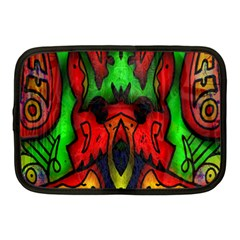 Faces Netbook Case (medium)  by MRTACPANS