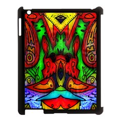 Faces Apple Ipad 3/4 Case (black) by MRTACPANS