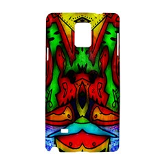 Faces Samsung Galaxy Note 4 Hardshell Case by MRTACPANS