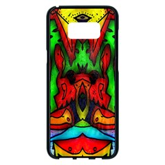 Faces Samsung Galaxy S8 Plus Black Seamless Case