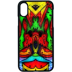 Faces Apple iPhone X Seamless Case (Black)