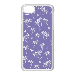 Tropical Pattern Apple Iphone 8 Seamless Case (white) by Valentinaart