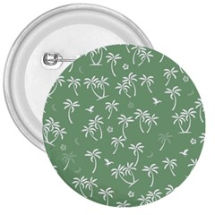 Tropical Pattern 3  Buttons by Valentinaart