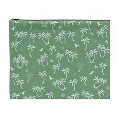 Tropical Pattern Cosmetic Bag (xl) by Valentinaart