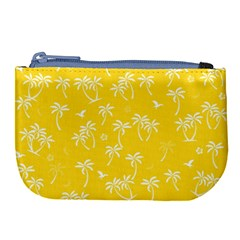Tropical Pattern Large Coin Purse by Valentinaart