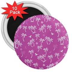 Tropical Pattern 3  Magnets (10 Pack)  by Valentinaart