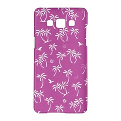 Tropical Pattern Samsung Galaxy A5 Hardshell Case  by Valentinaart