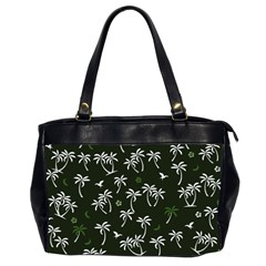 Tropical Pattern Office Handbags (2 Sides)  by Valentinaart