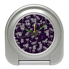 Tropical Pattern Travel Alarm Clocks