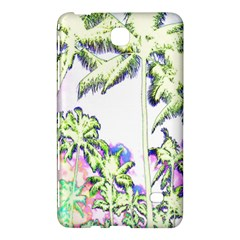 Palm Trees Tropical Beach Scenes Coastal Sketch Colored Neon Samsung Galaxy Tab 4 (8 ) Hardshell Case  by CrypticFragmentsColors
