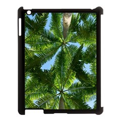 Paradise Under The Palms Apple Ipad 3/4 Case (black) by CrypticFragmentsColors