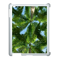 Paradise Under The Palms Apple Ipad 3/4 Case (white) by CrypticFragmentsColors