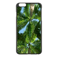 Paradise Under The Palms Apple Iphone 6 Plus/6s Plus Black Enamel Case by CrypticFragmentsColors