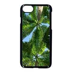 Paradise Under The Palms Apple Iphone 8 Seamless Case (black) by CrypticFragmentsColors