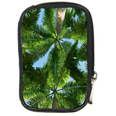 Paradise Under The Palms Compact Camera Cases by CrypticFragmentsColors