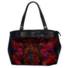 Exotic Water Colors Vibrant  Office Handbags