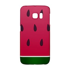 Watermelon Fruit Summer Red Fresh Samsung Galaxy S6 Edge Hardshell Case