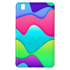 Lines Curves Colors Geometric Lines Samsung Galaxy Tab Pro 8 4 Hardshell Case