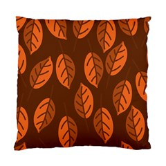 Pattern Leaf Plant Decoration Standard Cushion Case (two Sides)