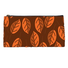 Pattern Leaf Plant Decoration Pencil Cases by Nexatart
