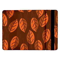 Pattern Leaf Plant Decoration Samsung Galaxy Tab Pro 12 2  Flip Case