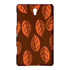 Pattern Leaf Plant Decoration Samsung Galaxy Tab S (8 4 ) Hardshell Case