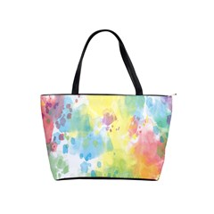 Abstract Pattern Color Art Texture Shoulder Handbags by Nexatart