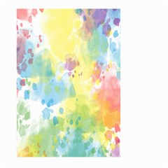 Abstract Pattern Color Art Texture Large Garden Flag (two Sides)