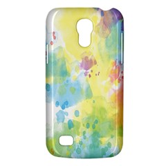 Abstract Pattern Color Art Texture Samsung Galaxy S4 Mini (gt I9190) Hardshell Case  by Nexatart