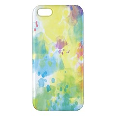 Abstract Pattern Color Art Texture Iphone 5s/ Se Premium Hardshell Case