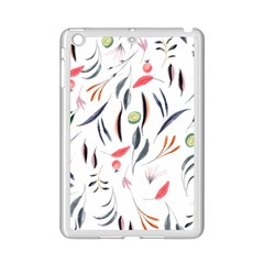 Watercolor Tablecloth Fabric Design Ipad Mini 2 Enamel Coated Cases