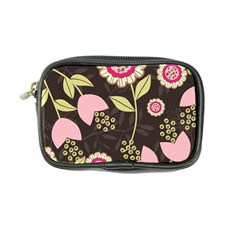 Flowers Wallpaper Floral Decoration Coin Purse