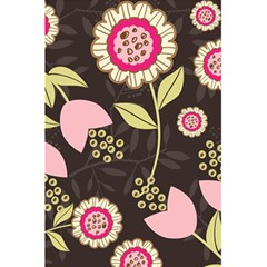 Flowers Wallpaper Floral Decoration 5 5  X 8 5  Notebooks by Nexatart